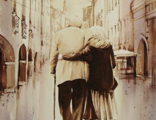 La misericordia è fare  spazio dentro di sé per accogliere l'altro e il muoversi verso di lui per donarsi.