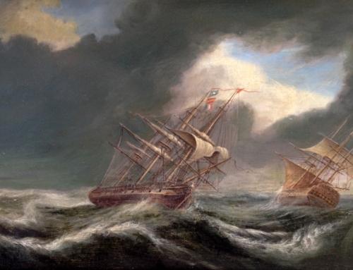 """""""L'ora della tempesta e del naufragio, è l'ora della inaudita prossimità di Dio""""."""