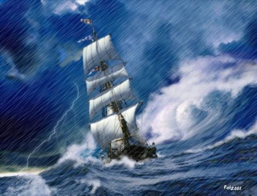 La tempesta nel cammino della vita, infatti, per alcuni diventa occasione per ripensarsi.